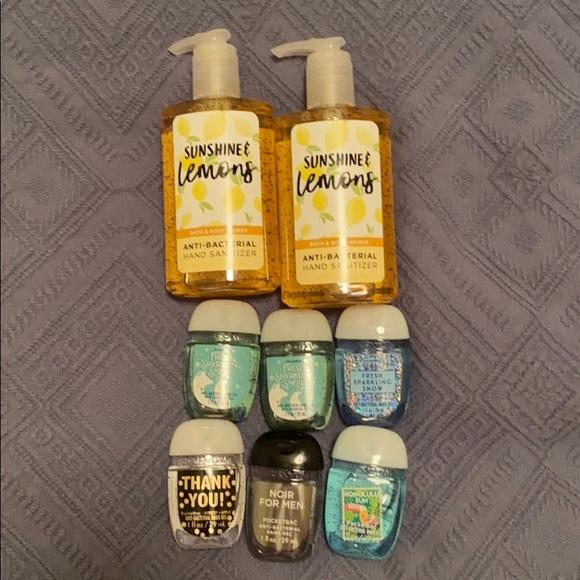 Bath & Body Works Hand Sanitizer Bundle